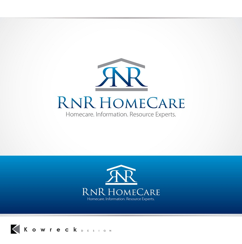 Logo Design by kowreck - Entry No. 134 in the Logo Design Contest Imaginative Logo Design for RNR HomeCare.