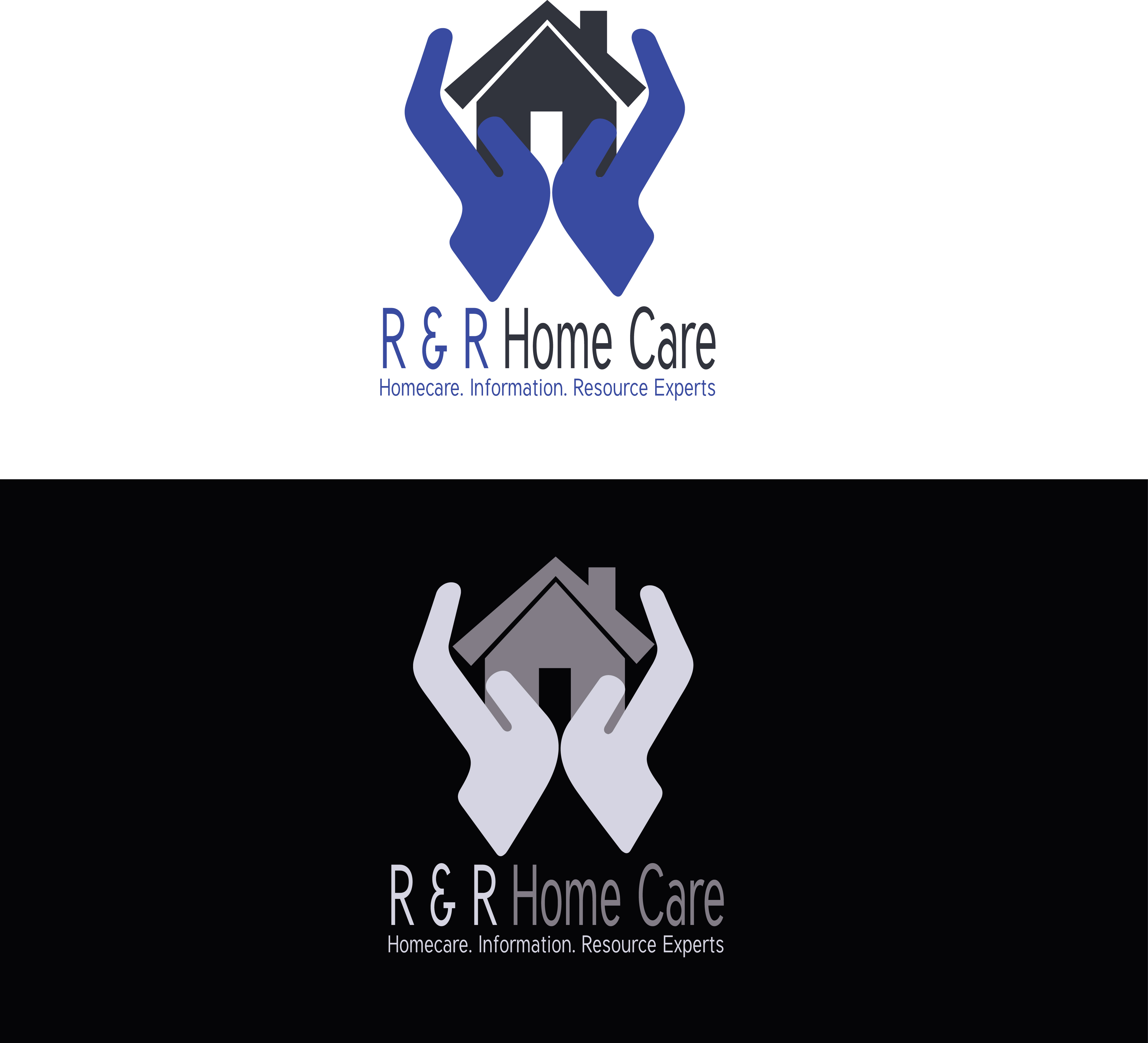 Logo Design by Faisal Javed - Entry No. 136 in the Logo Design Contest Imaginative Logo Design for RNR HomeCare.