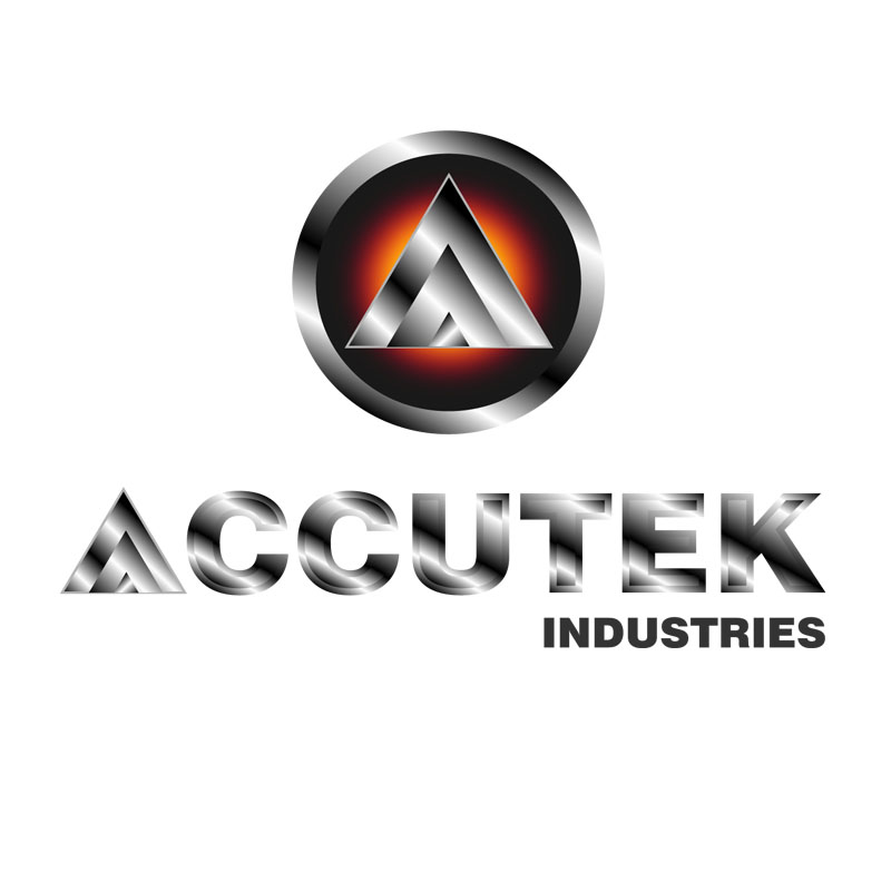 Logo Design by zams - Entry No. 53 in the Logo Design Contest Accutek Industries Ltd..