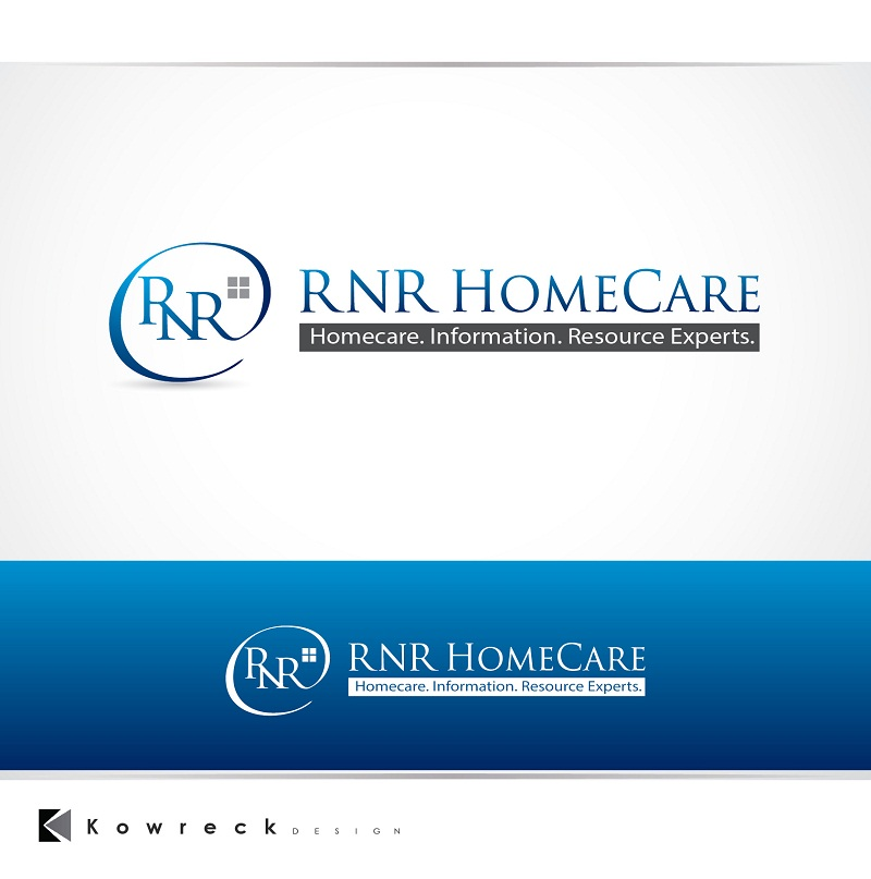 Logo Design by kowreck - Entry No. 137 in the Logo Design Contest Imaginative Logo Design for RNR HomeCare.