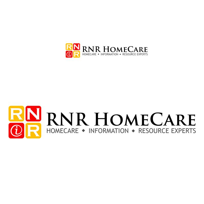 Logo Design by Private User - Entry No. 139 in the Logo Design Contest Imaginative Logo Design for RNR HomeCare.