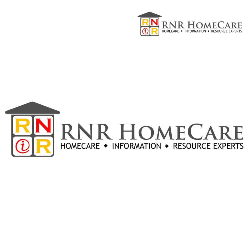 Logo Design by Private User - Entry No. 141 in the Logo Design Contest Imaginative Logo Design for RNR HomeCare.