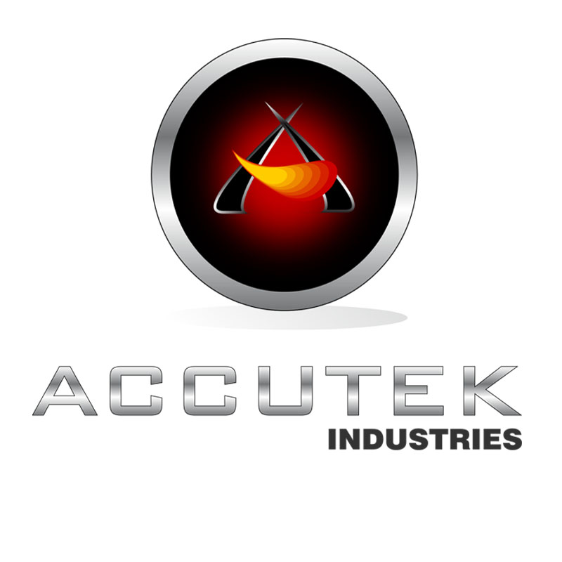 Logo Design by zams - Entry No. 54 in the Logo Design Contest Accutek Industries Ltd..