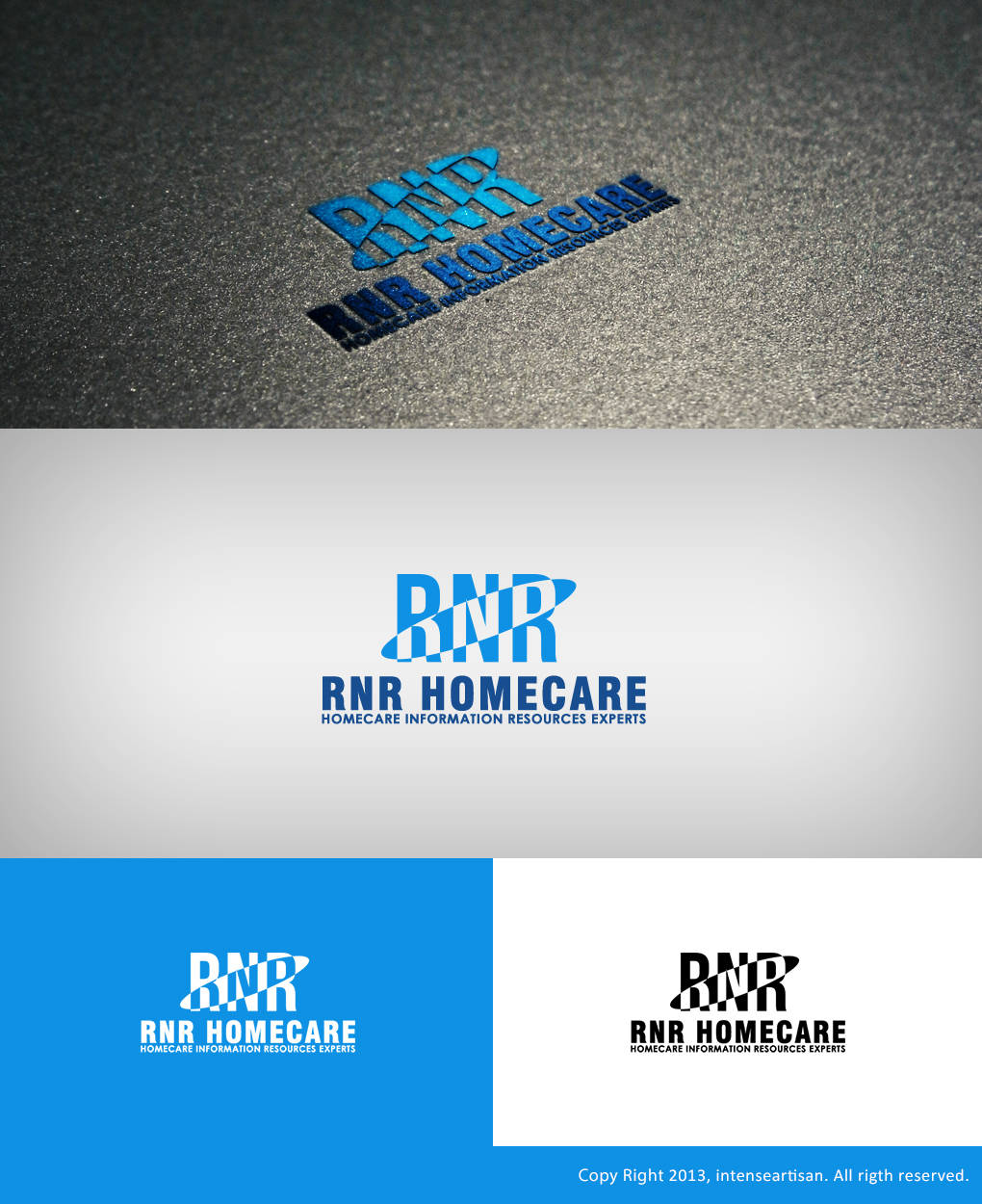 Logo Design by Virgilio Pineda III - Entry No. 144 in the Logo Design Contest Imaginative Logo Design for RNR HomeCare.