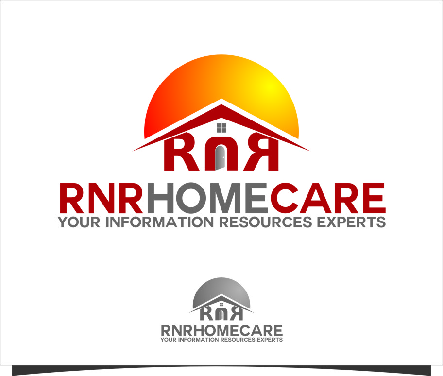 Logo Design by Ngepet_art - Entry No. 145 in the Logo Design Contest Imaginative Logo Design for RNR HomeCare.