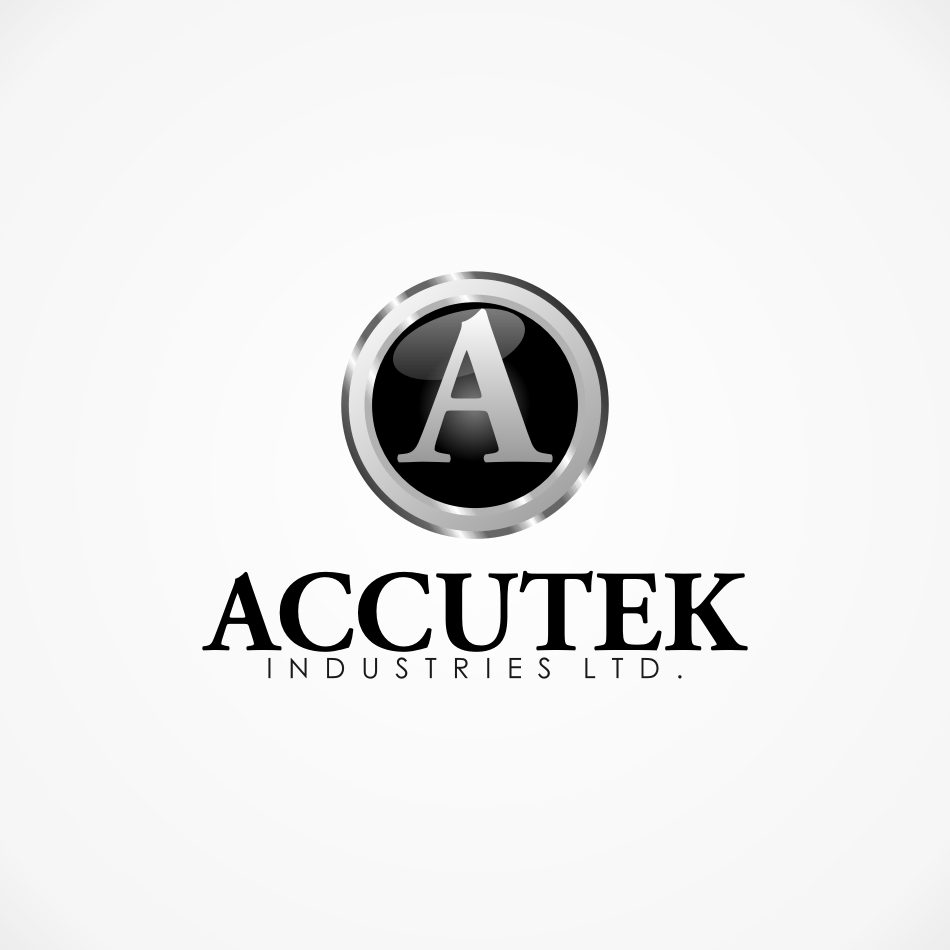 Logo Design by TimothyLeary - Entry No. 55 in the Logo Design Contest Accutek Industries Ltd..