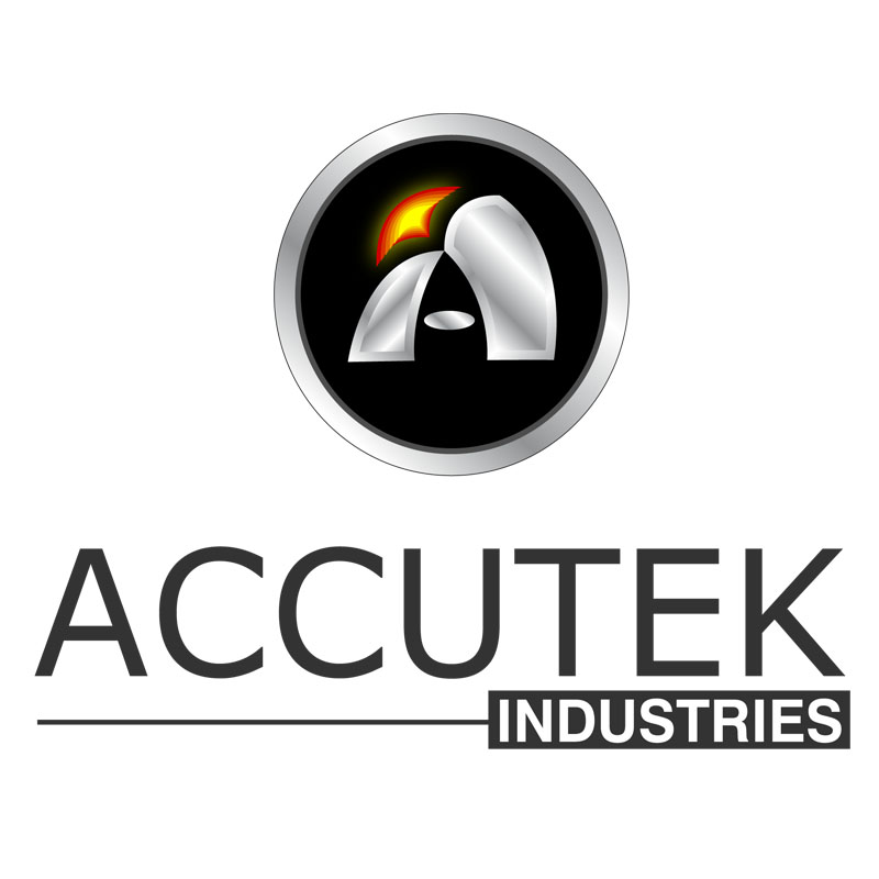 Logo Design by zams - Entry No. 56 in the Logo Design Contest Accutek Industries Ltd..