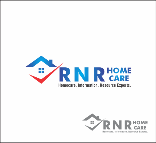 Logo Design by Armada Jamaluddin - Entry No. 149 in the Logo Design Contest Imaginative Logo Design for RNR HomeCare.