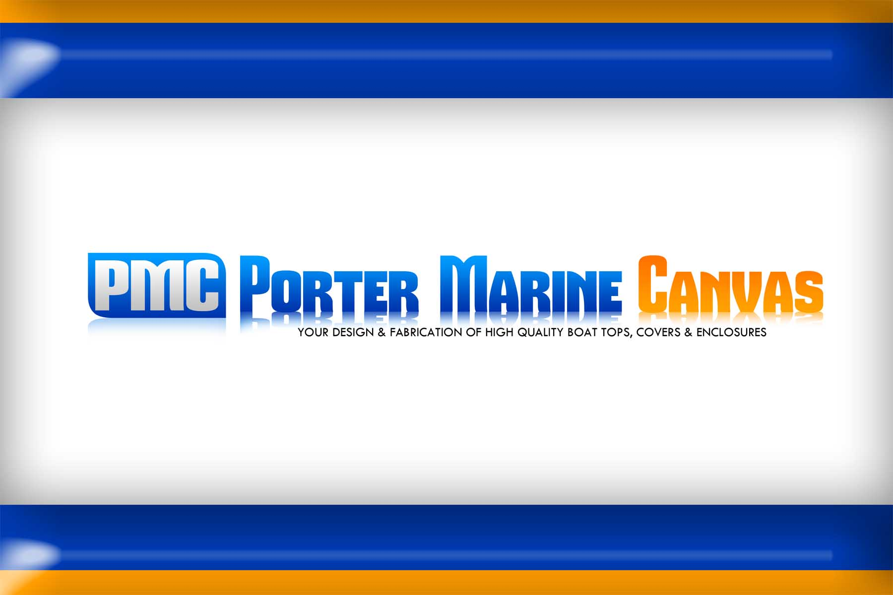 Logo Design by Private User - Entry No. 132 in the Logo Design Contest Imaginative Logo Design for Porter Marine Canvas.
