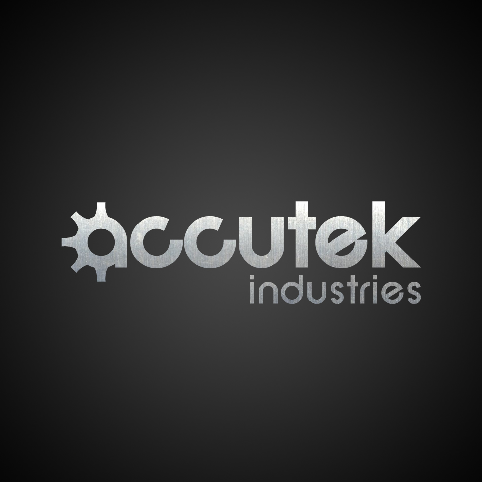 Logo Design by Kevin  Haag - Entry No. 59 in the Logo Design Contest Accutek Industries Ltd..