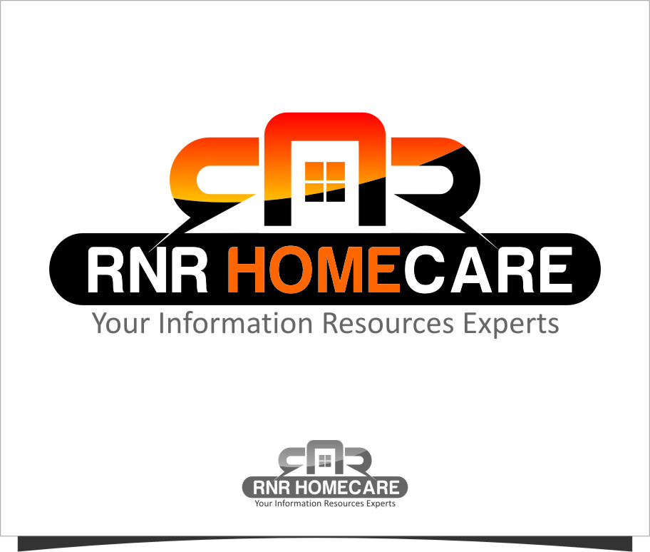 Logo Design by Ngepet_art - Entry No. 156 in the Logo Design Contest Imaginative Logo Design for RNR HomeCare.