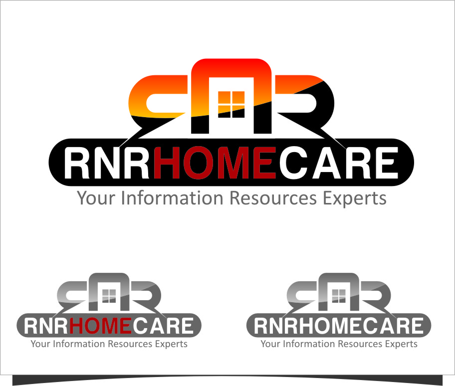 Logo Design by RasYa Muhammad Athaya - Entry No. 157 in the Logo Design Contest Imaginative Logo Design for RNR HomeCare.