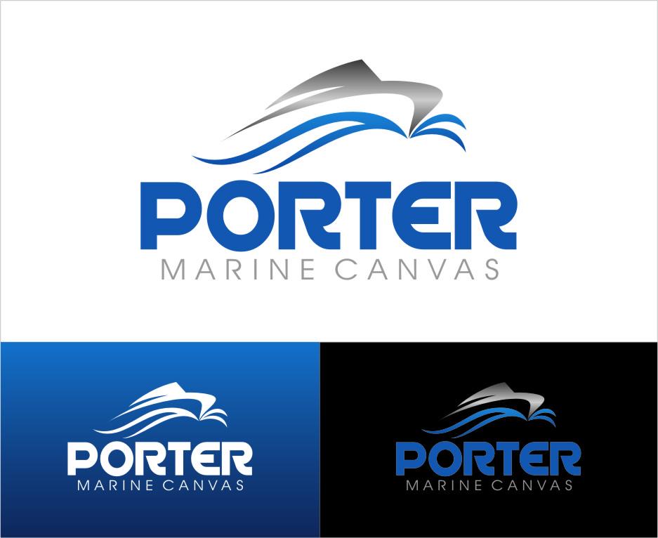 Logo Design by RasYa Muhammad Athaya - Entry No. 152 in the Logo Design Contest Imaginative Logo Design for Porter Marine Canvas.