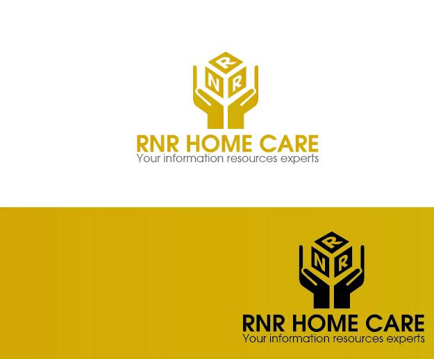 Logo Design by Private User - Entry No. 159 in the Logo Design Contest Imaginative Logo Design for RNR HomeCare.