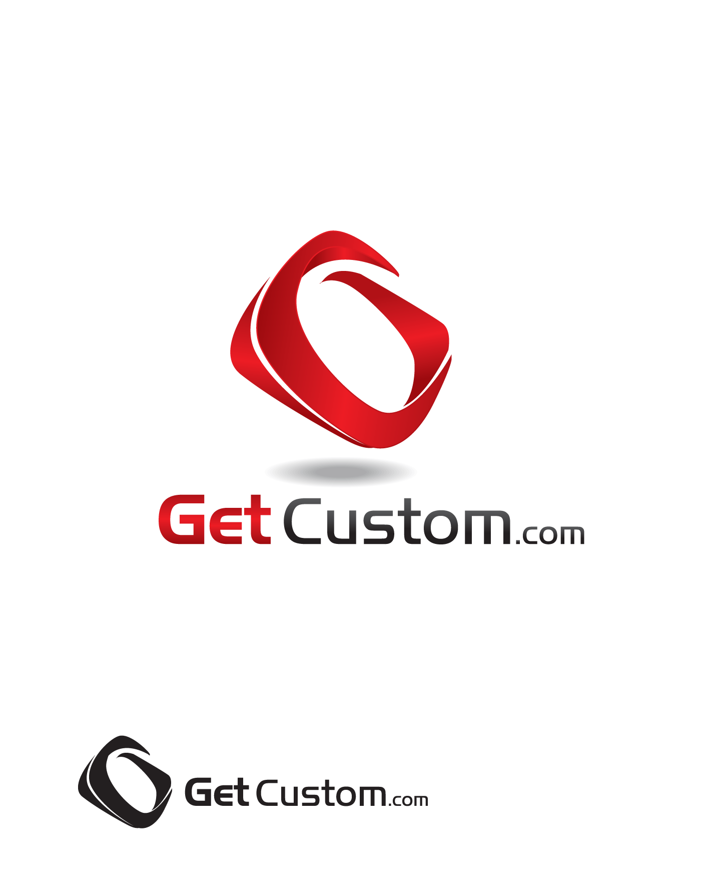 Logo Design by Yusuf Nurochim - Entry No. 43 in the Logo Design Contest getcustom.com Logo Design.