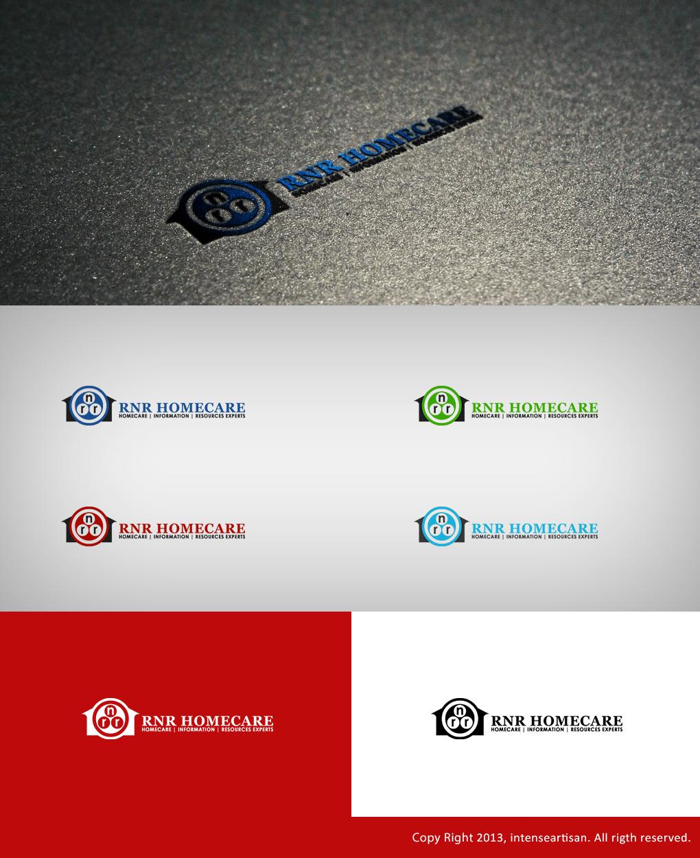 Logo Design by Virgilio Pineda III - Entry No. 164 in the Logo Design Contest Imaginative Logo Design for RNR HomeCare.