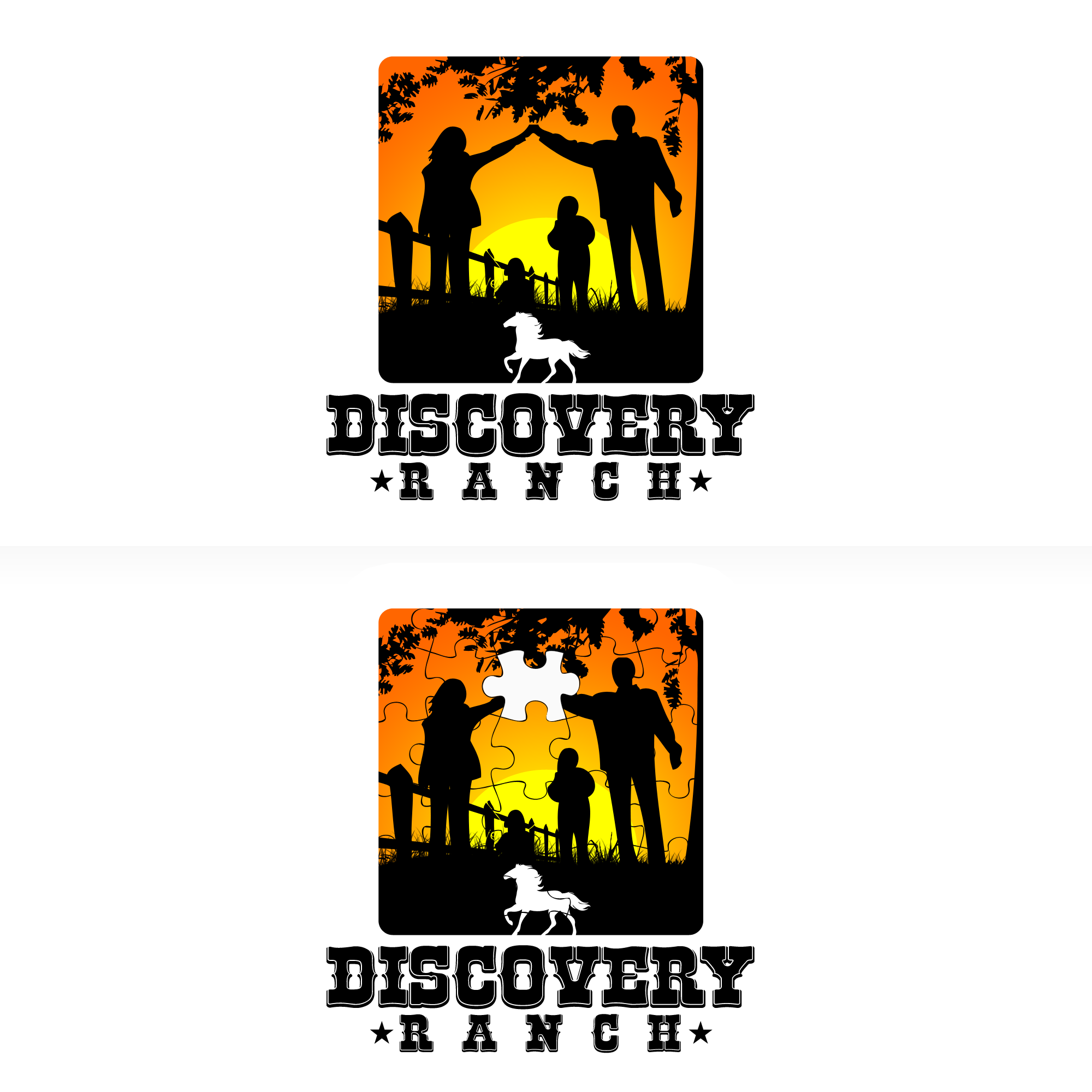 Logo Design by Kenneth Joel - Entry No. 43 in the Logo Design Contest Creative Logo Design for Discovery Ranch.