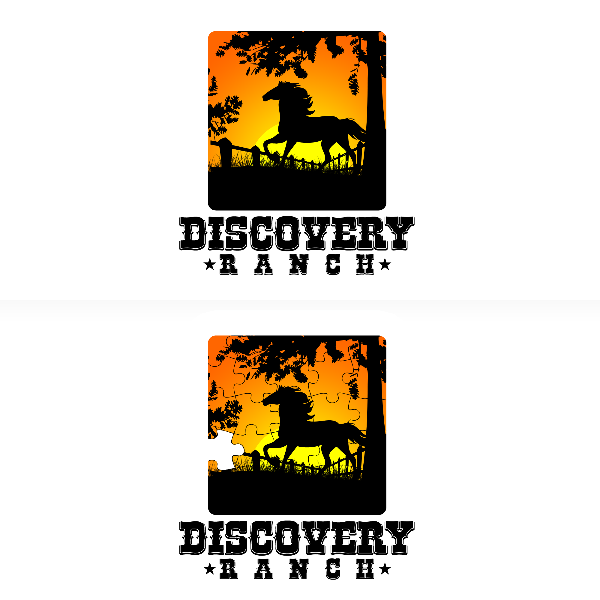 Logo Design by Kenneth Joel - Entry No. 44 in the Logo Design Contest Creative Logo Design for Discovery Ranch.