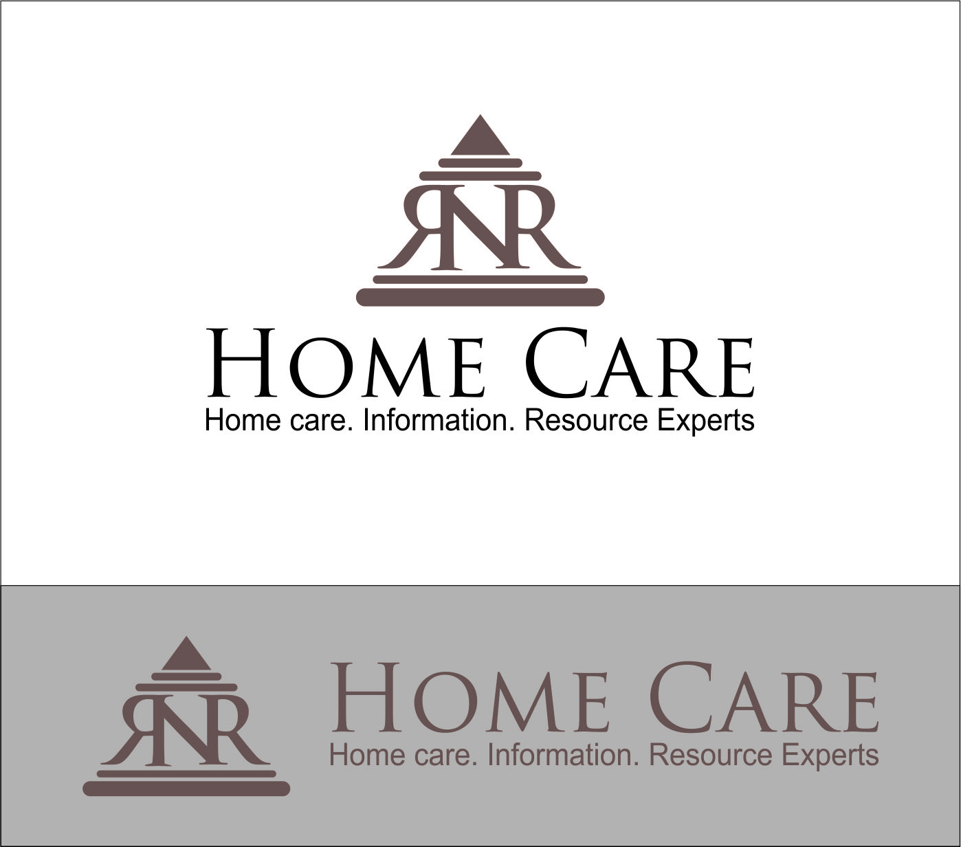 Logo Design by Agus Martoyo - Entry No. 170 in the Logo Design Contest Imaginative Logo Design for RNR HomeCare.