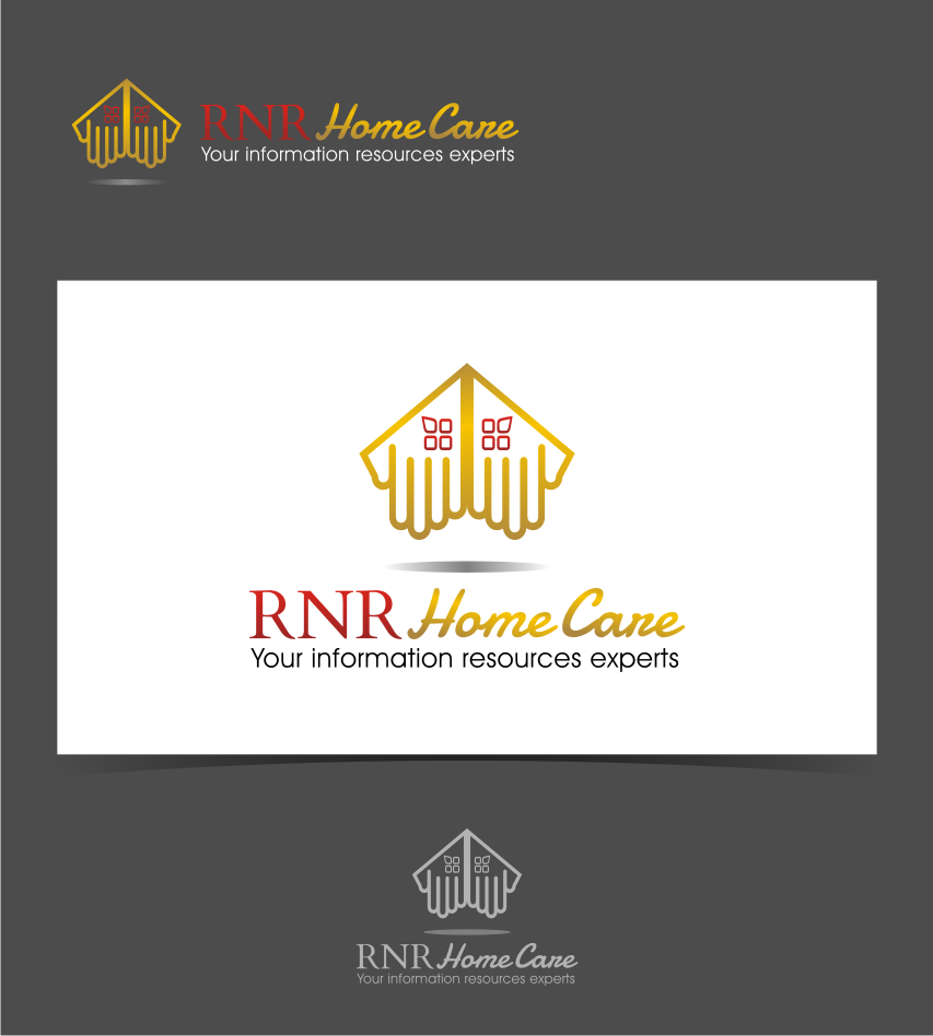 Logo Design by graphicleaf - Entry No. 173 in the Logo Design Contest Imaginative Logo Design for RNR HomeCare.
