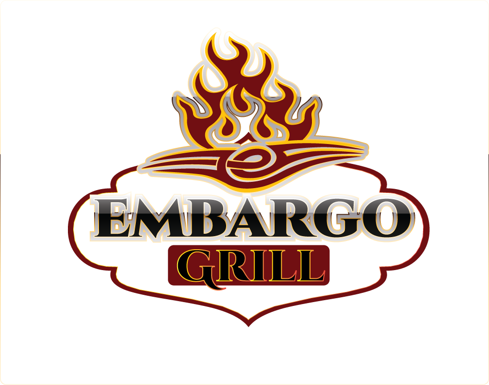 Logo Design by Sri Lata - Entry No. 73 in the Logo Design Contest Captivating Logo Design for Embargo Grill.
