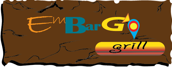 Logo Design by zorrojr_2013 - Entry No. 76 in the Logo Design Contest Captivating Logo Design for Embargo Grill.