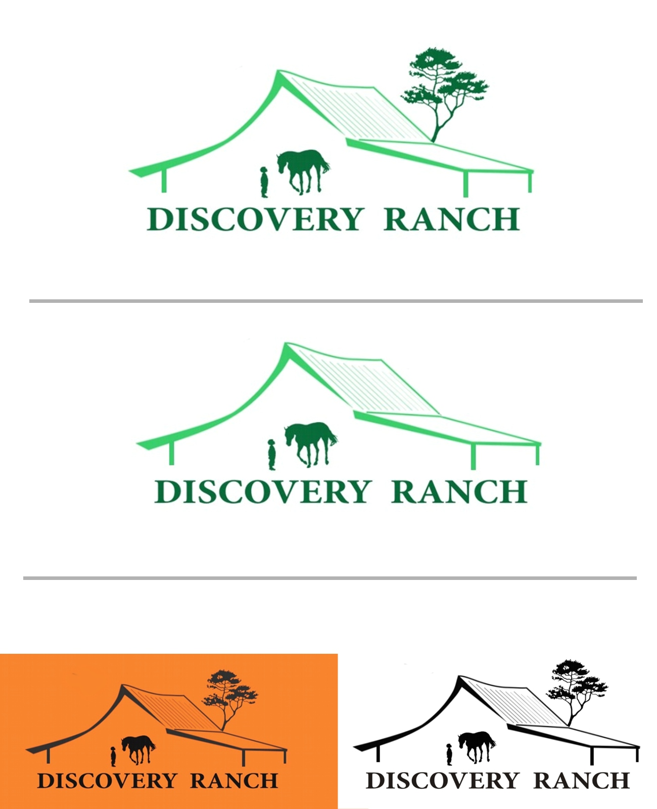 Logo Design by Q_Division_Designs - Entry No. 50 in the Logo Design Contest Creative Logo Design for Discovery Ranch.