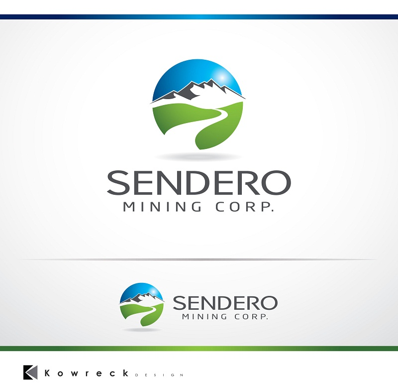 Logo Design by kowreck - Entry No. 3 in the Logo Design Contest Unique Logo Design Wanted for Sendero Mining Corp..