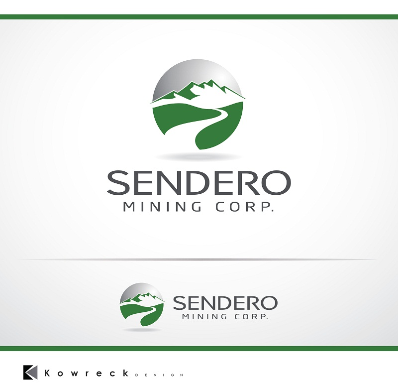 Logo Design by kowreck - Entry No. 4 in the Logo Design Contest Unique Logo Design Wanted for Sendero Mining Corp..