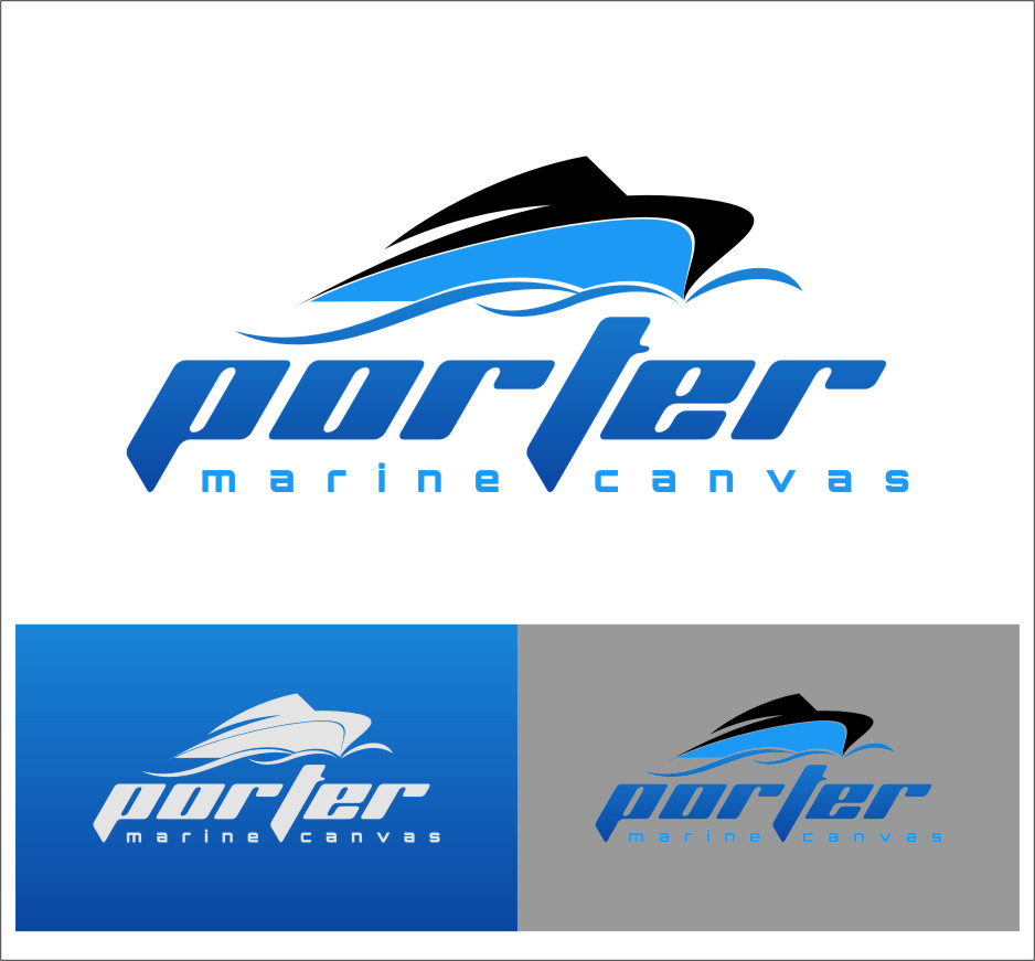 Logo Design by RoSyid Rono-Rene On Java - Entry No. 197 in the Logo Design Contest Imaginative Logo Design for Porter Marine Canvas.