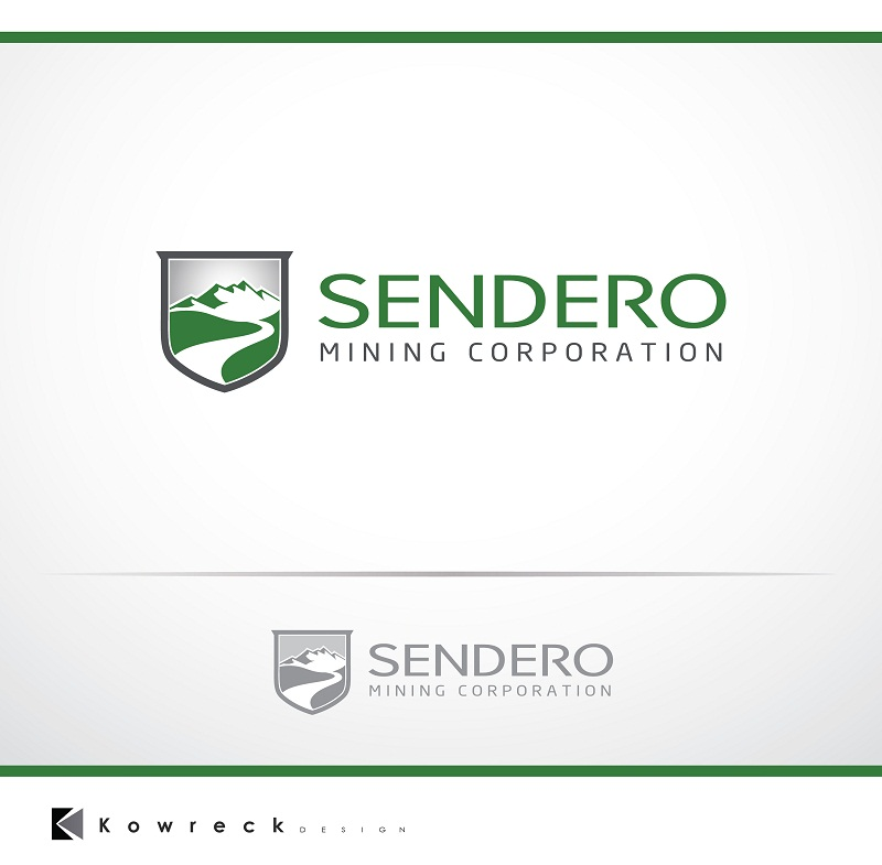 Logo Design by kowreck - Entry No. 5 in the Logo Design Contest Unique Logo Design Wanted for Sendero Mining Corp..