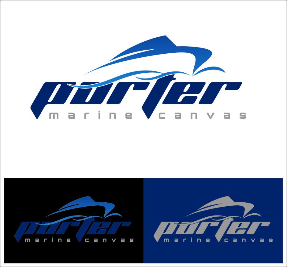 Logo Design by RasYa Muhammad Athaya - Entry No. 203 in the Logo Design Contest Imaginative Logo Design for Porter Marine Canvas.