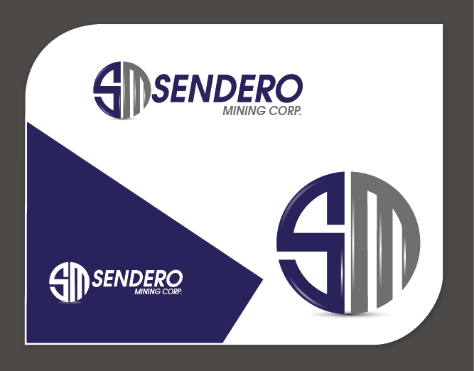 Logo Design by Private User - Entry No. 10 in the Logo Design Contest Unique Logo Design Wanted for Sendero Mining Corp..