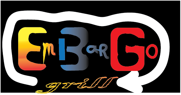 Logo Design by zorrojr_2013 - Entry No. 77 in the Logo Design Contest Captivating Logo Design for Embargo Grill.