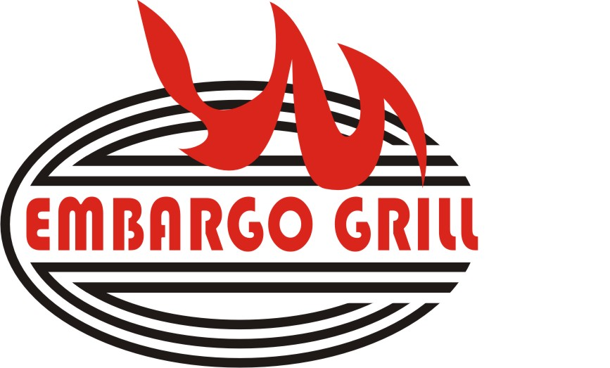 Logo Design by Korsunov Oleg - Entry No. 79 in the Logo Design Contest Captivating Logo Design for Embargo Grill.