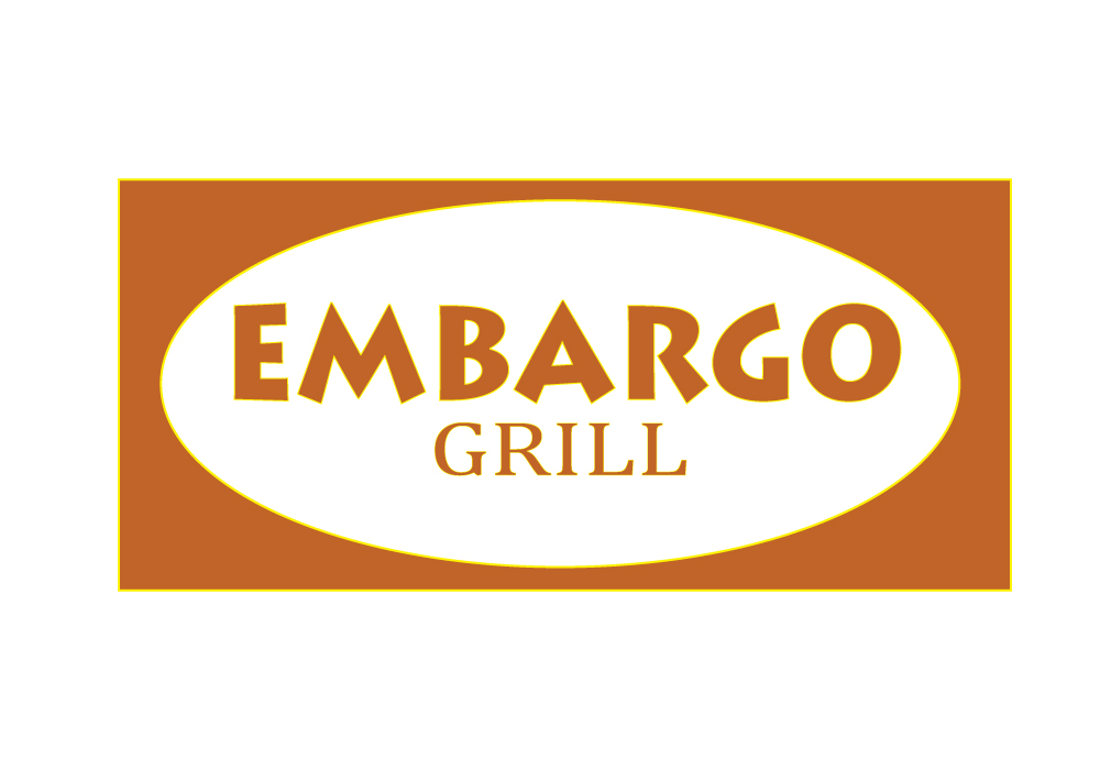 Logo Design by Amianan - Entry No. 80 in the Logo Design Contest Captivating Logo Design for Embargo Grill.