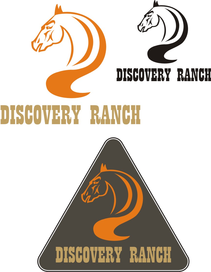 Logo Design by Korsunov Oleg - Entry No. 57 in the Logo Design Contest Creative Logo Design for Discovery Ranch.