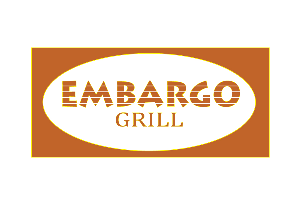Logo Design by Amianan - Entry No. 81 in the Logo Design Contest Captivating Logo Design for Embargo Grill.