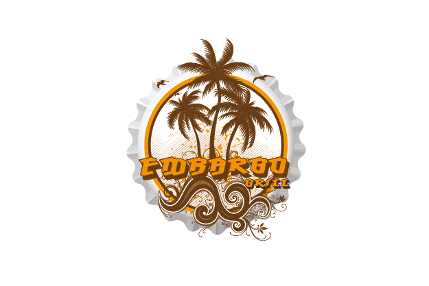 Logo Design by Private User - Entry No. 82 in the Logo Design Contest Captivating Logo Design for Embargo Grill.