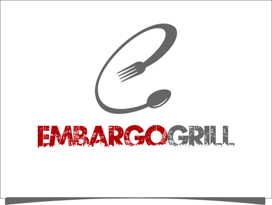 Logo Design by RoSyid Rono-Rene On Java - Entry No. 86 in the Logo Design Contest Captivating Logo Design for Embargo Grill.