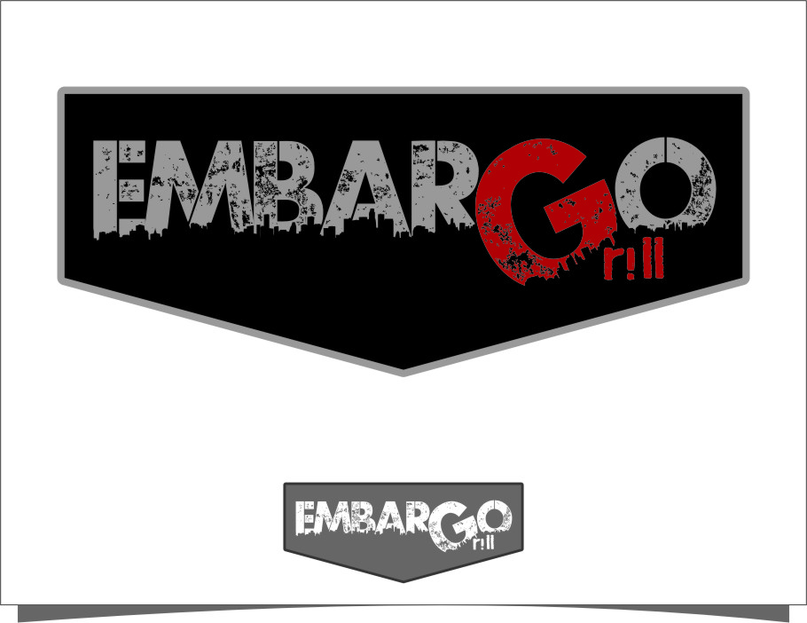 Logo Design by RasYa Muhammad Athaya - Entry No. 88 in the Logo Design Contest Captivating Logo Design for Embargo Grill.