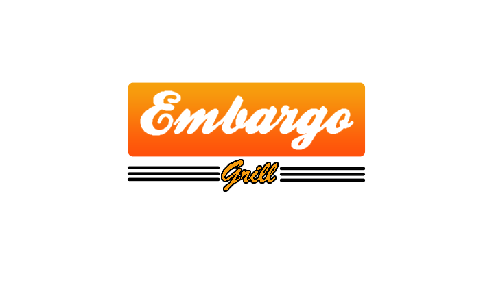 Logo Design by Aries Monta - Entry No. 89 in the Logo Design Contest Captivating Logo Design for Embargo Grill.