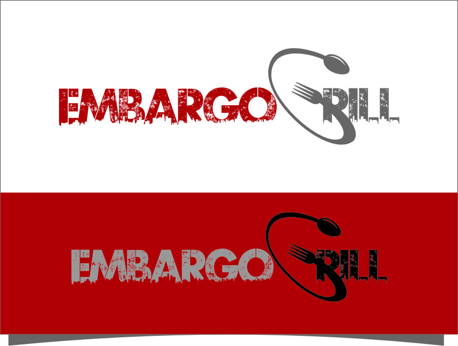 Logo Design by RasYa Muhammad Athaya - Entry No. 90 in the Logo Design Contest Captivating Logo Design for Embargo Grill.