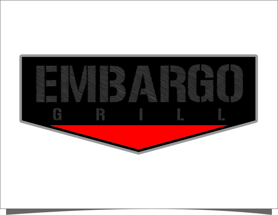 Logo Design by RasYa Muhammad Athaya - Entry No. 92 in the Logo Design Contest Captivating Logo Design for Embargo Grill.