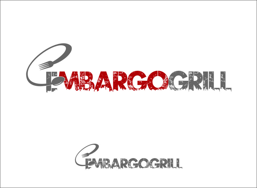 Logo Design by RasYa Muhammad Athaya - Entry No. 93 in the Logo Design Contest Captivating Logo Design for Embargo Grill.