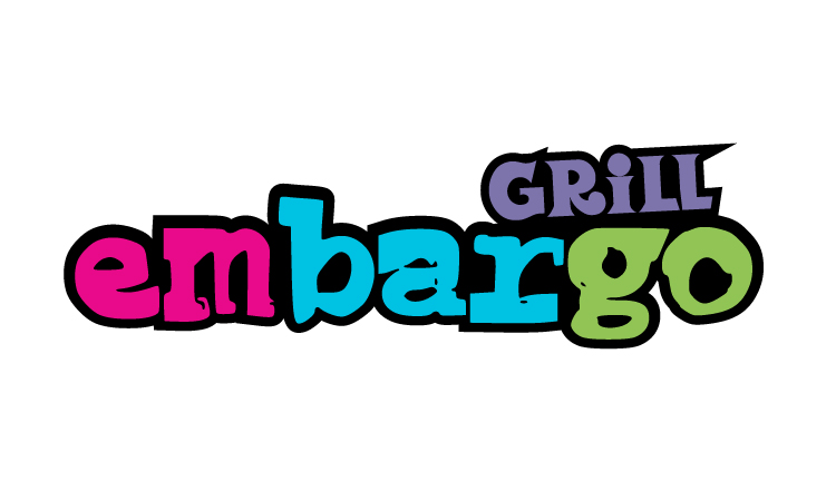 Logo Design by Top Elite - Entry No. 94 in the Logo Design Contest Captivating Logo Design for Embargo Grill.