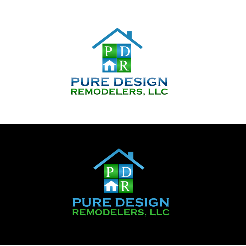 Logo Design by RAJU CHATTERJEE - Entry No. 4 in the Logo Design Contest Custom Logo Design for Pure Design Remodelers.
