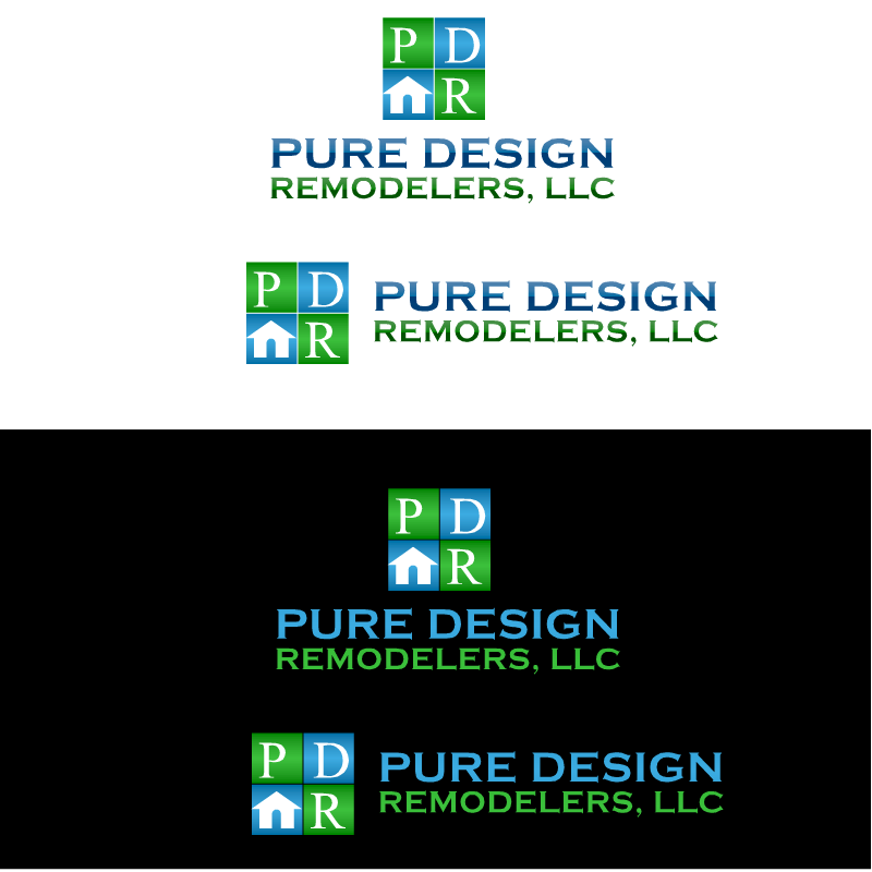 Logo Design by RAJU CHATTERJEE - Entry No. 5 in the Logo Design Contest Custom Logo Design for Pure Design Remodelers.