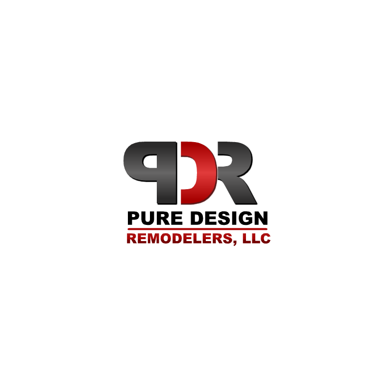 Logo Design by RAJU CHATTERJEE - Entry No. 7 in the Logo Design Contest Custom Logo Design for Pure Design Remodelers.