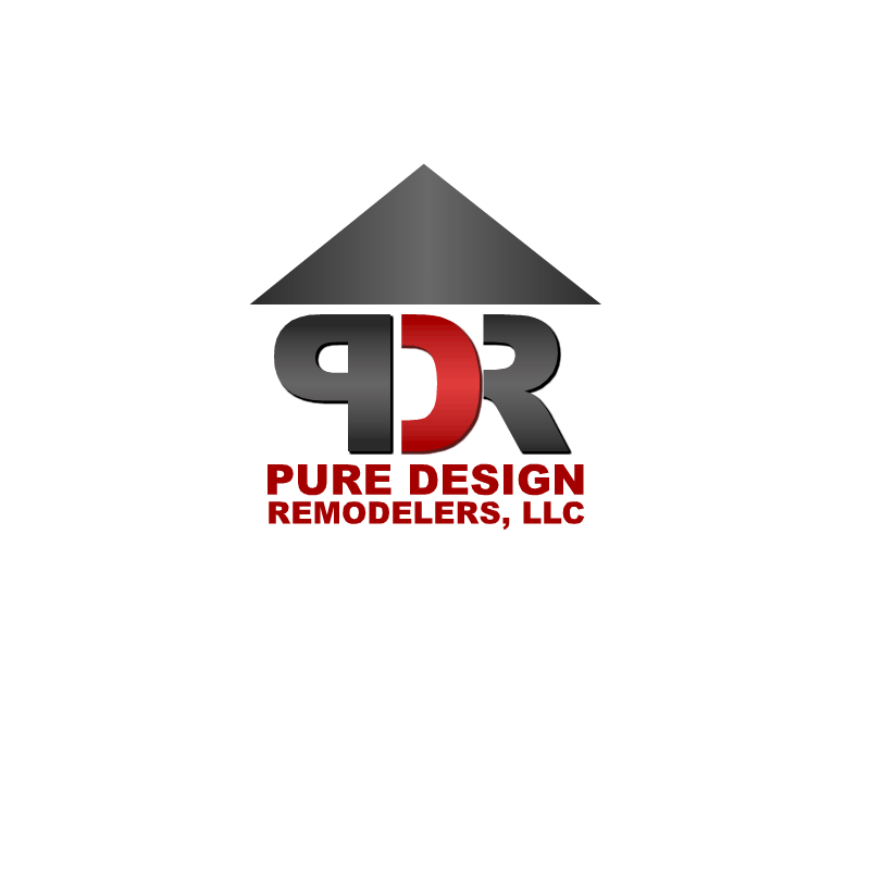 Logo Design by RAJU CHATTERJEE - Entry No. 8 in the Logo Design Contest Custom Logo Design for Pure Design Remodelers.